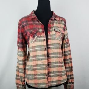Upcycle flannel